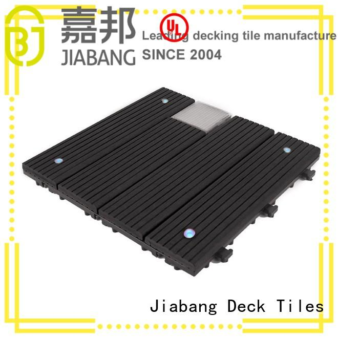 JIABANG Brand ground home solar light tiles