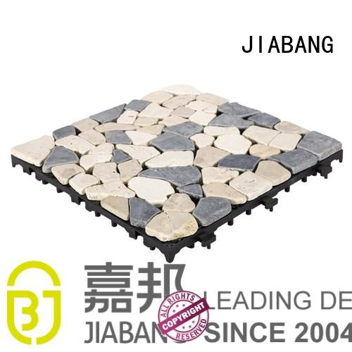 JIABANG hot-sale tumbled travertine floor tiles wholesale for garden decoration