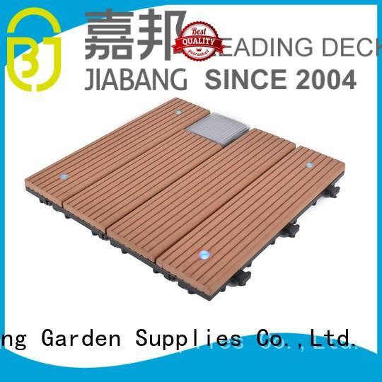 lamp ground garden solar balcony deck tiles JIABANG