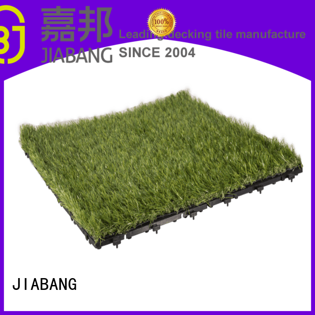 JIABANG professional deck tiles on grass at discount balcony construction