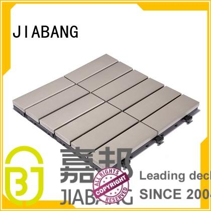 room plastic decking tiles woodland lightweight JIABANG company