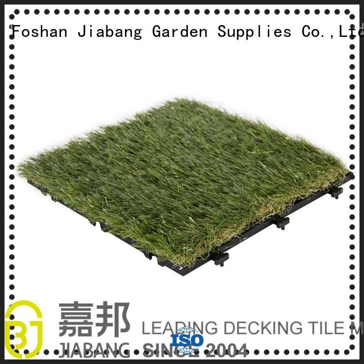 grass tiles flooring for customization JIABANG