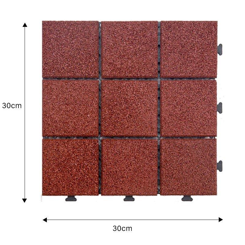 hot-sale interlocking rubber mats composite light weight house decoration-2