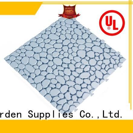 JIABANG decorative outdoor plastic deck tiles anti-sliding for customization