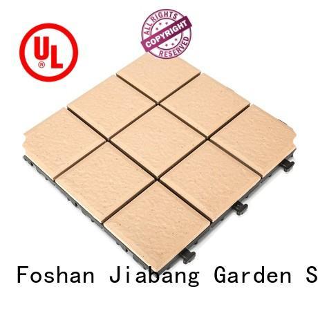 JIABANG OEM porcelain interlocking deck tiles wholesale gazebo construction