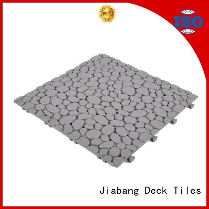 JIABANG plastic garden tiles non-slip for customization