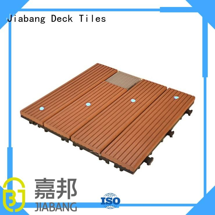Hot balcony deck tiles light JIABANG Brand