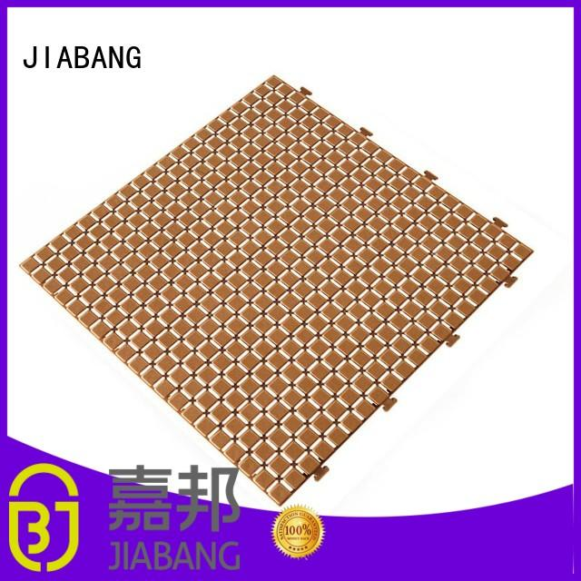 protective plastic garden tiles flooring high-quality for customization