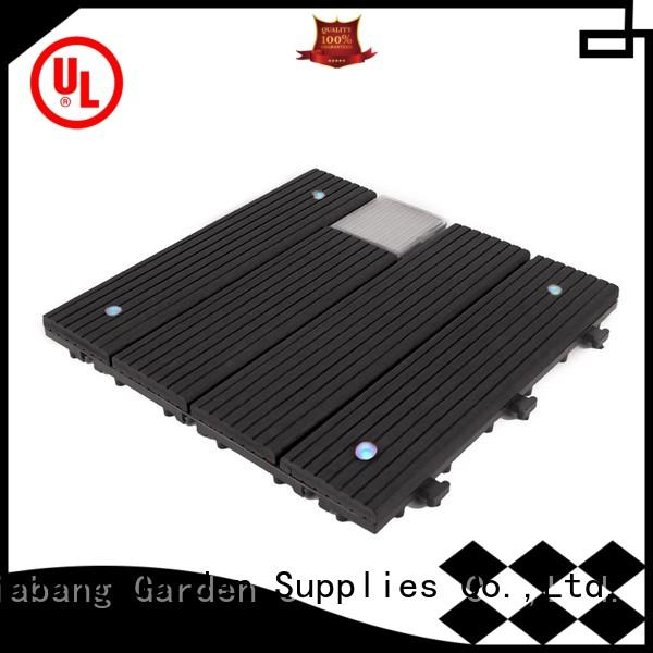 high-quality square decking tiles protective garden lamp