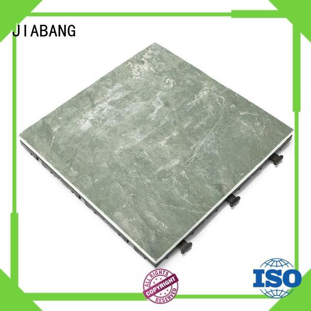 JIABANG stone interlocking stone deck tiles basement decoration swimming pool