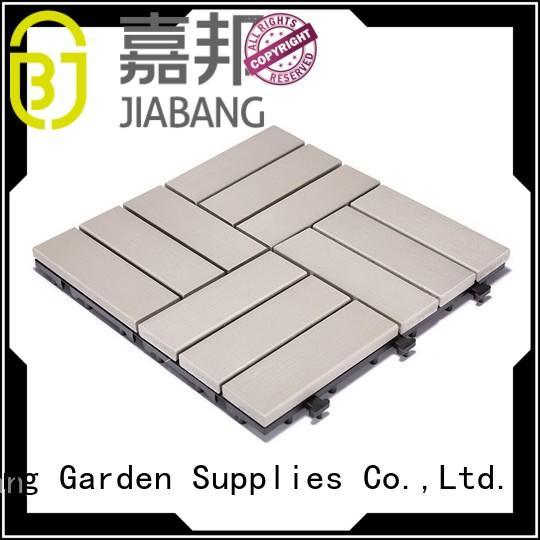 JIABANG pvc plastic patio tiles anti-siding garden path