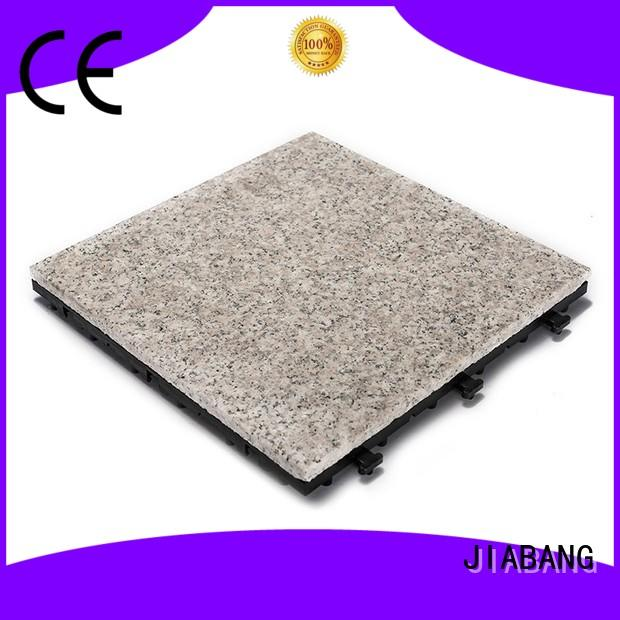 JIABANG durable gray granite tile factory price for porch construction