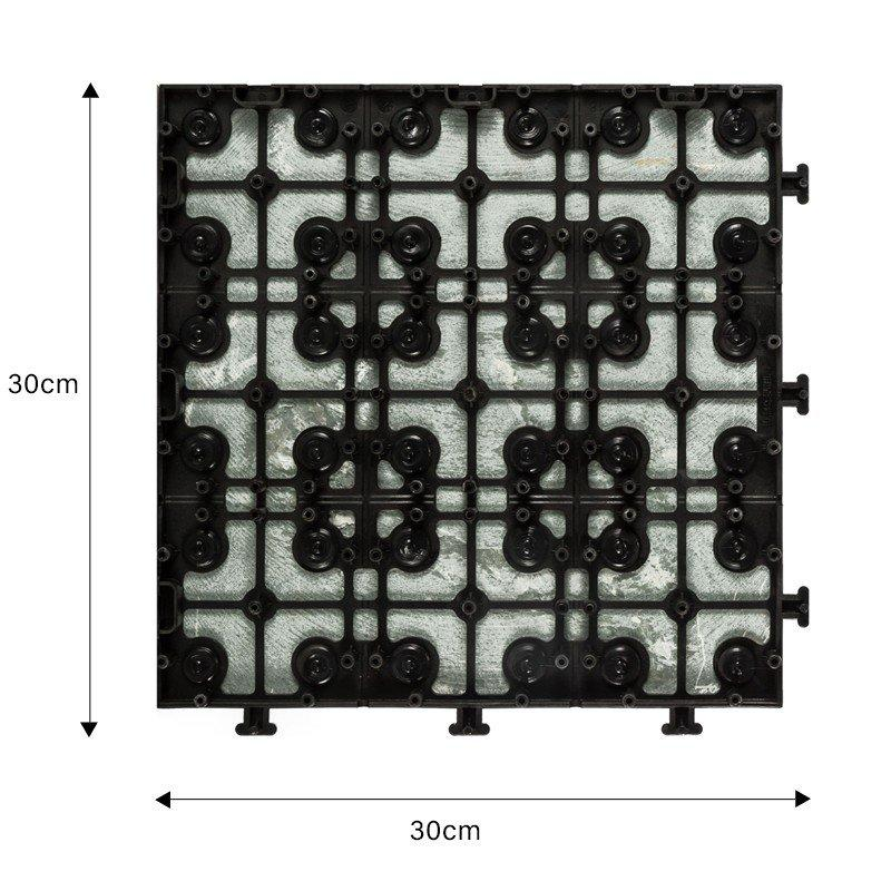 interlocking slate tiles for sale stone garden decoration for patio-2