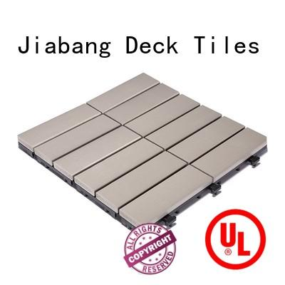 JIABANG pvc outdoor plastic tiles popular gazebo decoration