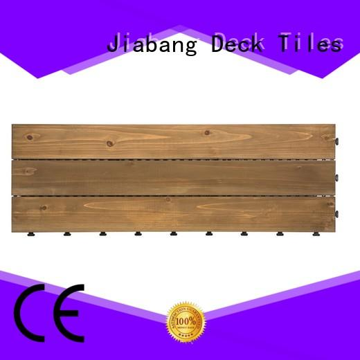JIABANG interlocking interlocking wood deck tiles wooddeck wooden floor