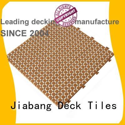 JIABANG anti-sliding plastic decking tiles non-slip kitchen flooring