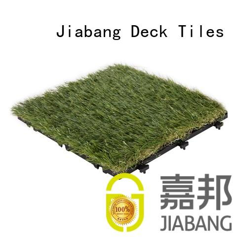JIABANG artificial turf fake grass squares hot-sale for wholesale