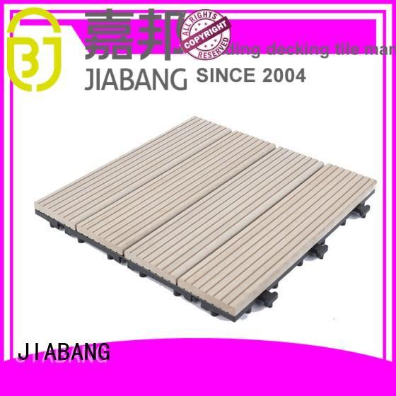 outdoor composite interlocking tiles hot-sale JIABANG