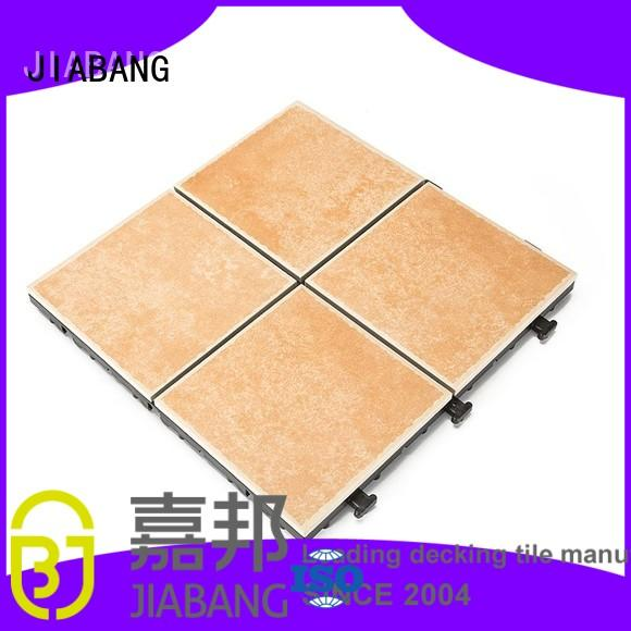 outdoor frost proof porcelain tiles non-slip balcony decoration JIABANG