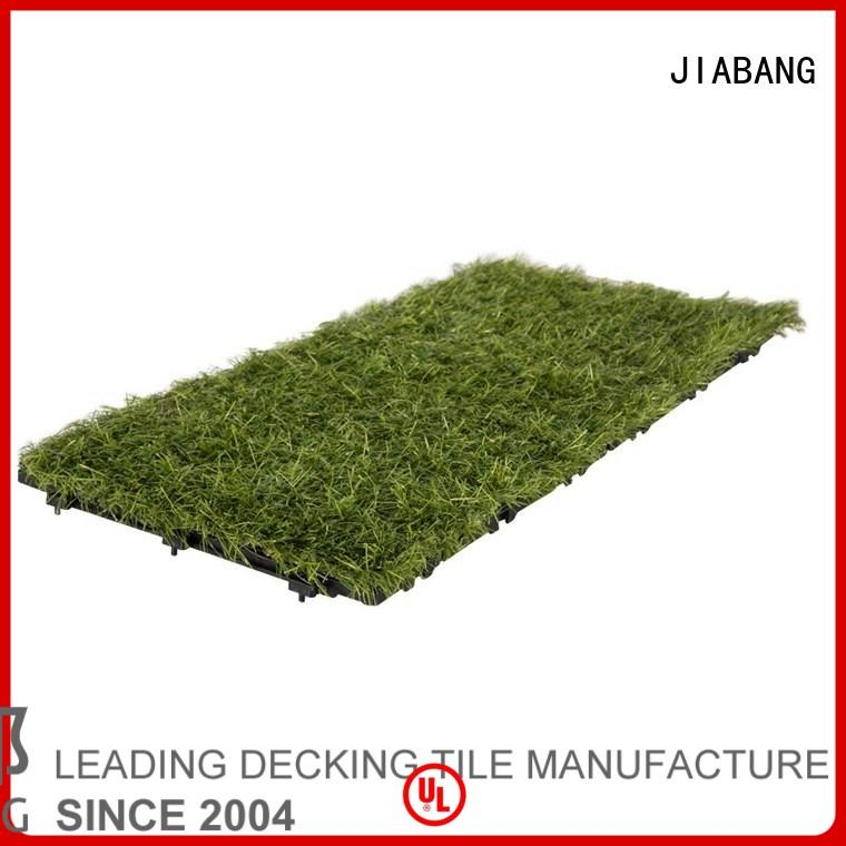 floor outdoor turf grass floor tiles JIABANG