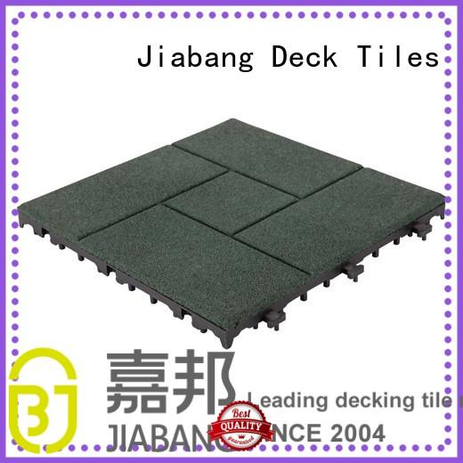 JIABANG playground rubber mat tiles low-cost house decoration