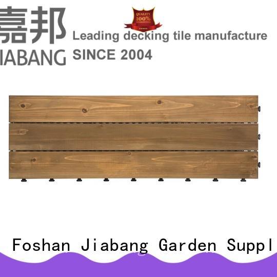 JIABANG diy wood interlocking wood deck tiles wooddeck for garden
