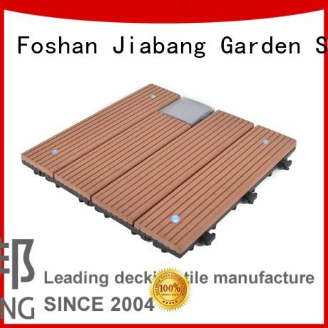 JIABANG high-quality modular decking panels eco-friendly home