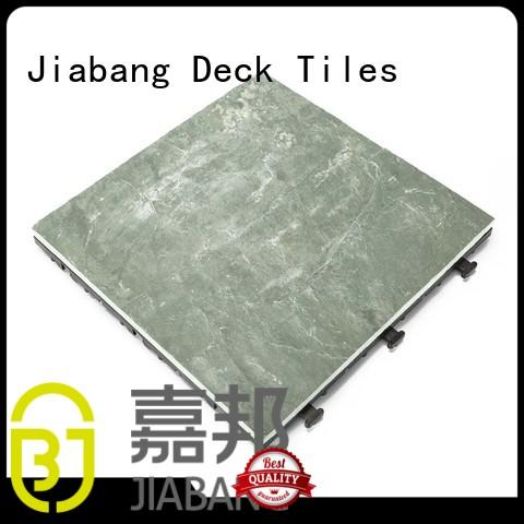 JIABANG Brand waterproofing outdoor deck custom outdoor stone deck tiles