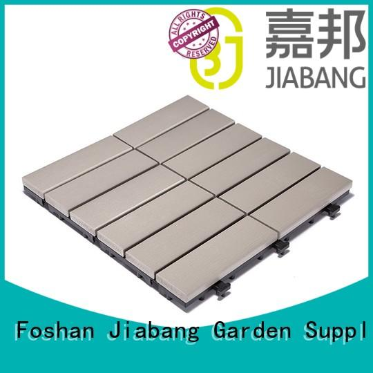 JIABANG high-end plastic patio tiles anti-siding home decoration