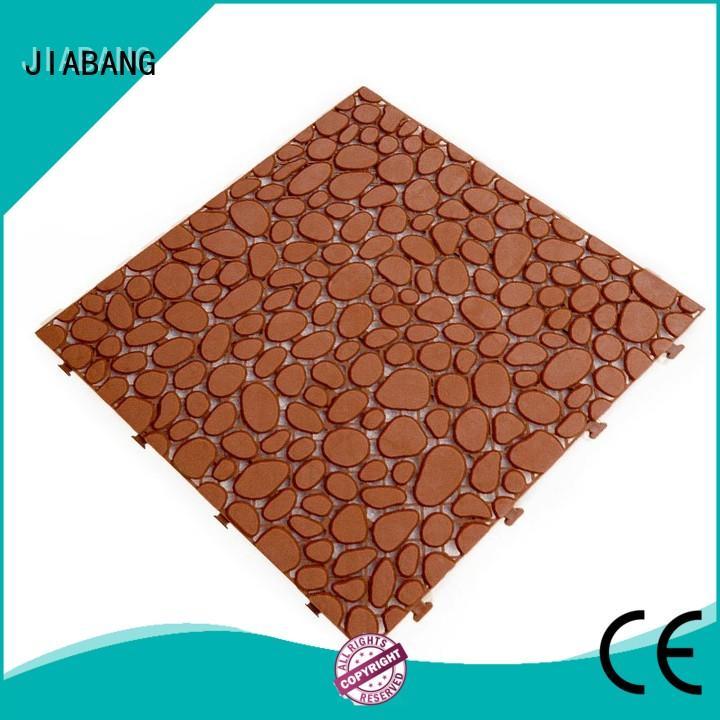 decorative plastic floor tiles high-quality