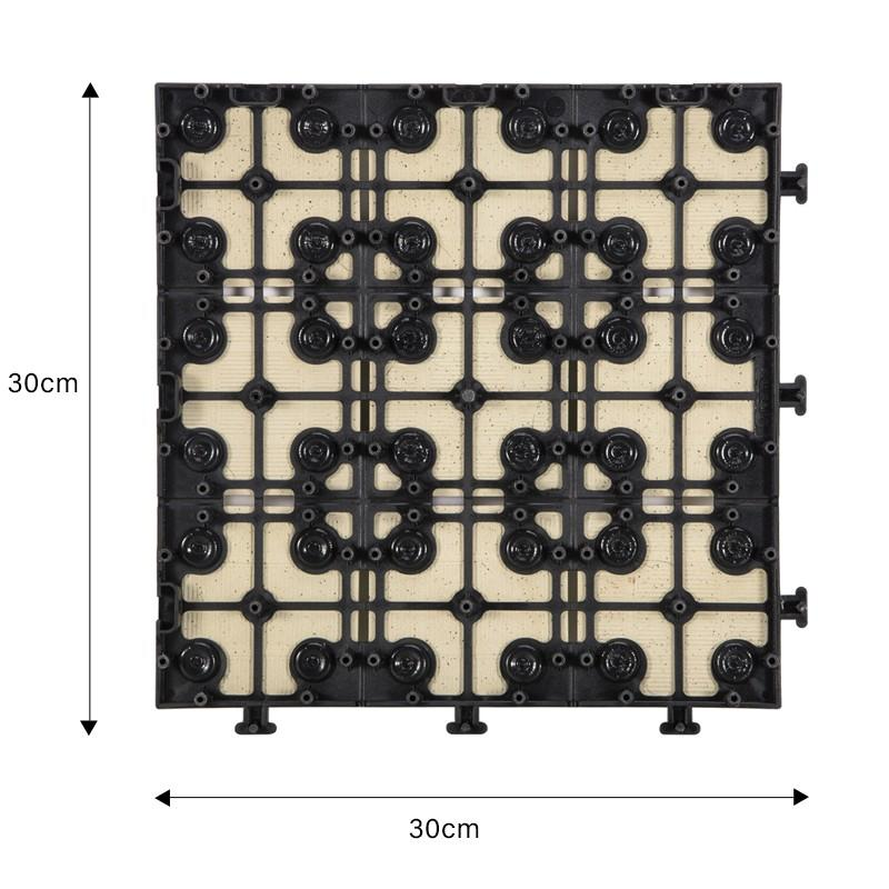 0.8cm ceramic patio deck tiles ST-BG-2