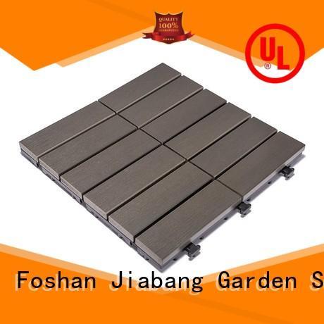 Garden path plastic deck tiles PS12P30312DGH