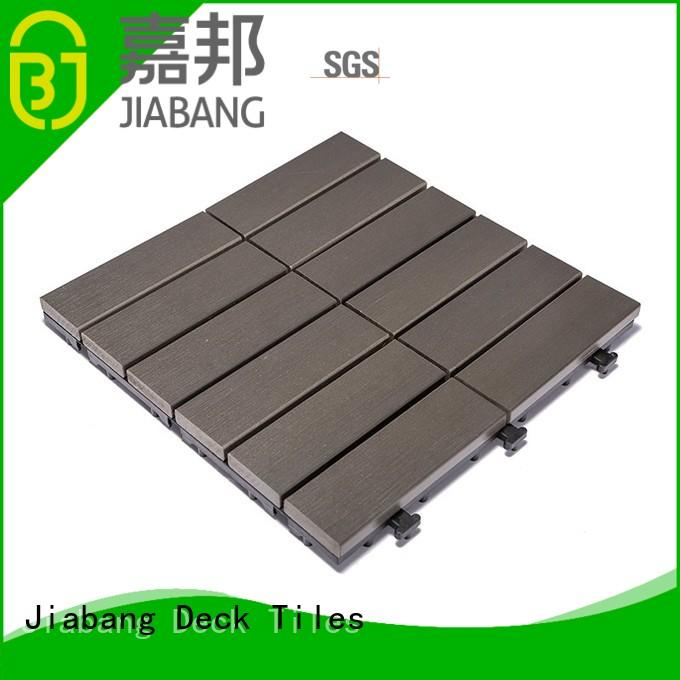 JIABANG light-weight plastic decking panels high-quality garden path