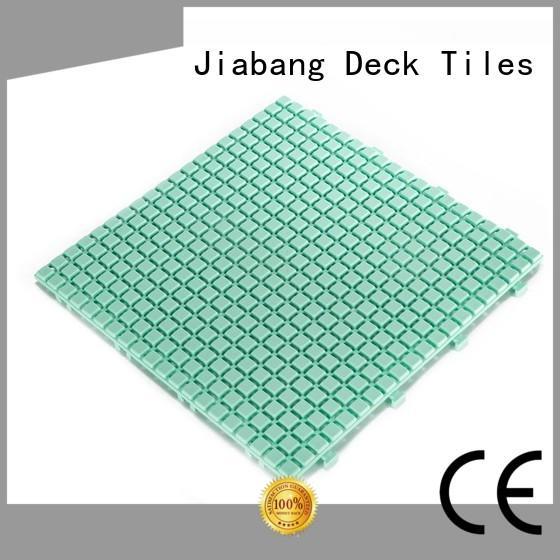 JIABANG interlocking plastic patio tiles high-quality for wholesale