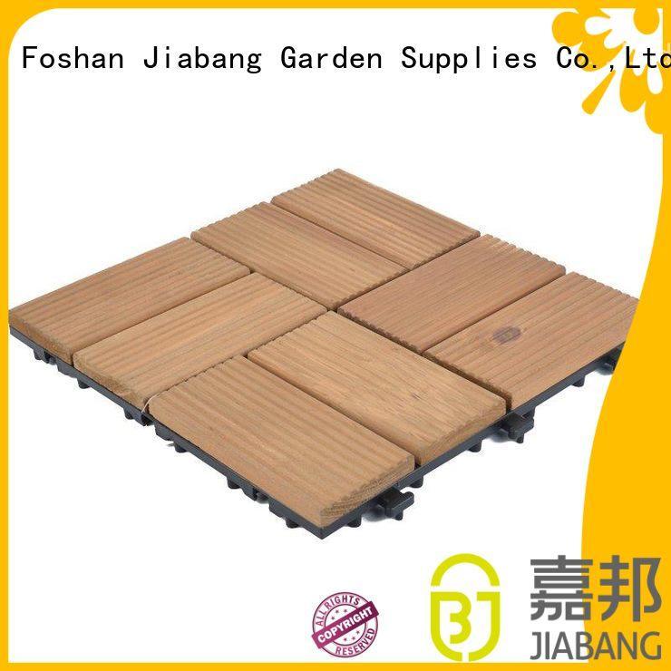 JIABANG convenient outdoor wood deck tiles gazebo at discount
