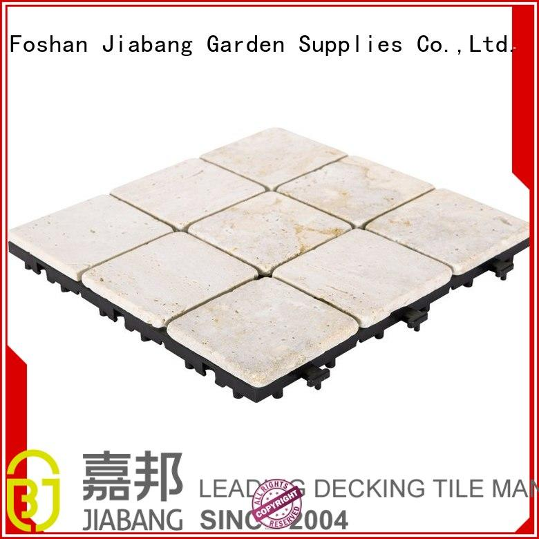 outdoor travertine tile outdoor use diy for playground JIABANG