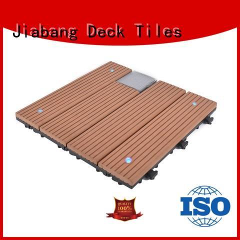 JIABANG eco-friendly balcony deck tiles ground