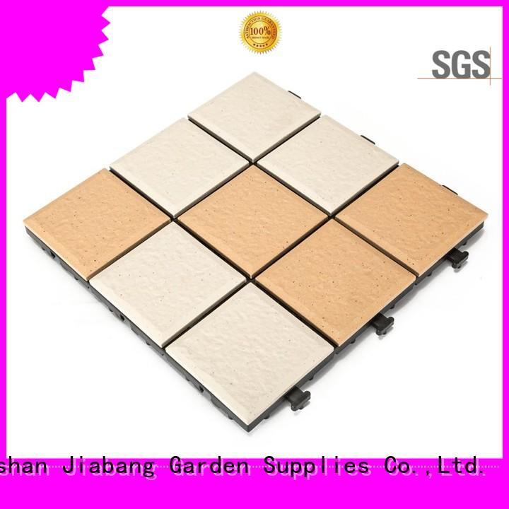 JIABANG exterior ceramic deck tiles best manufacturer for patio