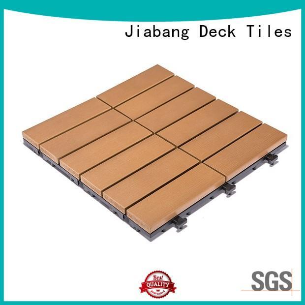 JIABANG durable plastic decking tiles high-quality gazebo decoration