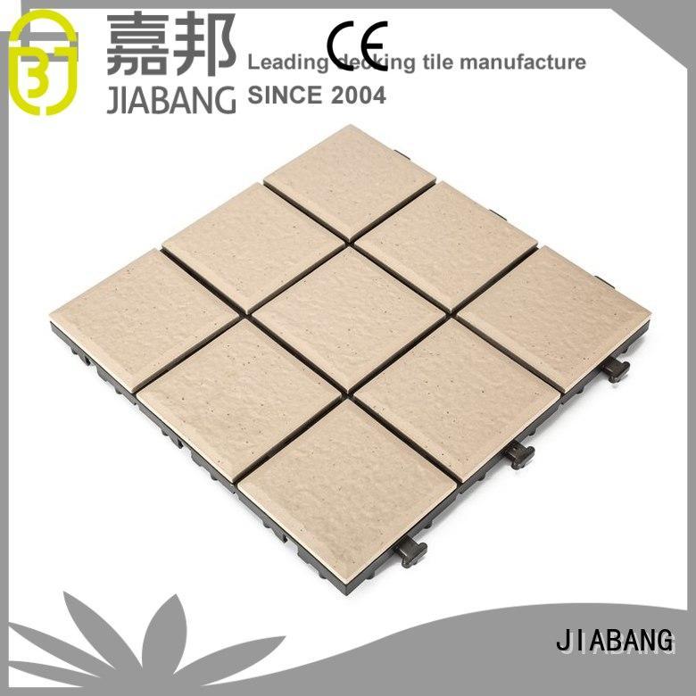 Hot ceramic interlocking tiles stsd JIABANG Brand