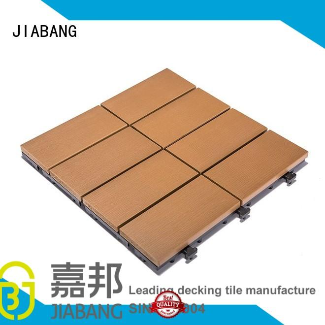 light-weight outdoor plastic tiles anti-siding garden path