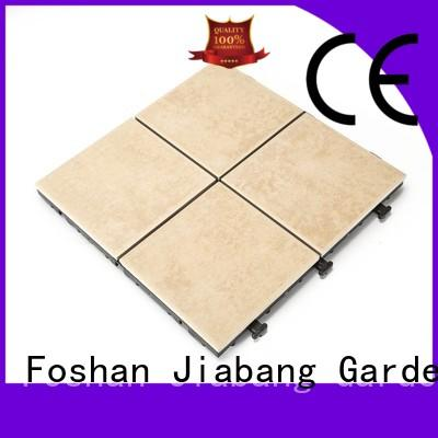 JIABANG durable outdoor frost proof floor tiles non-slip balcony decoration