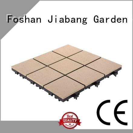 interlocking ceramic deck tiles best manufacturer for patio JIABANG