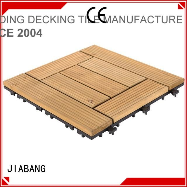 adjustable interlocking wood deck tiles wooddeck for garden