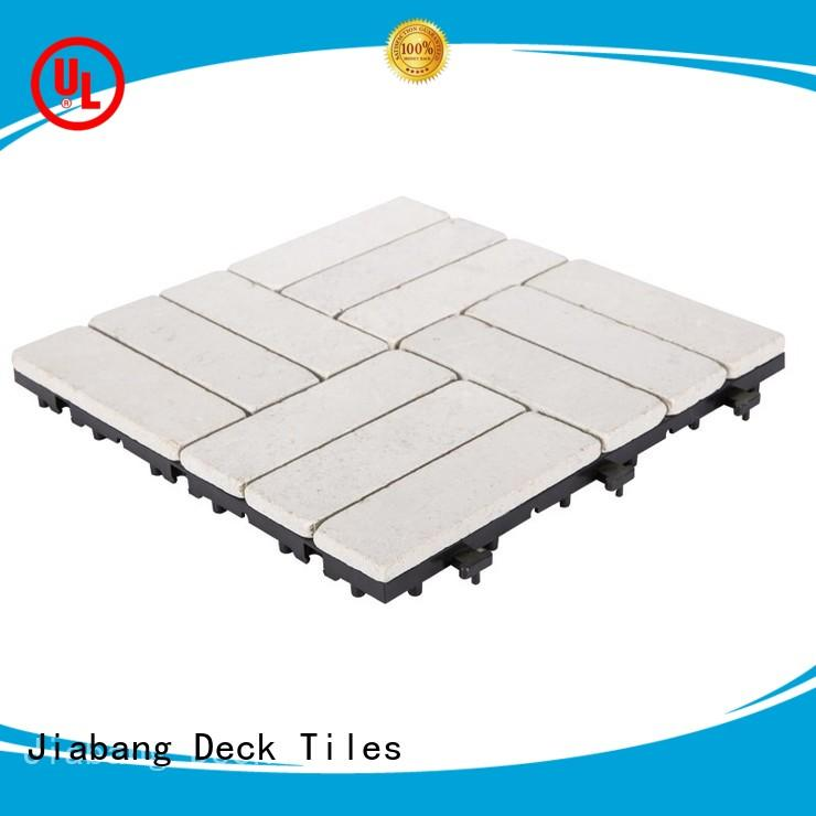 JIABANG hot-sale silver travertine tile high-quality for garden decoration