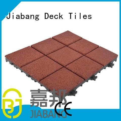 JIABANG Brand porch gymnastics tiles rubber mat tiles exterior