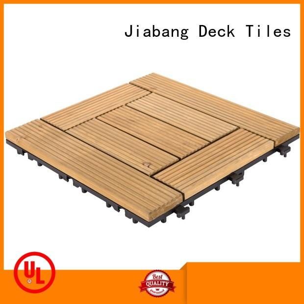 JIABANG outdoor wooden decking squares wooddeck wooden floor