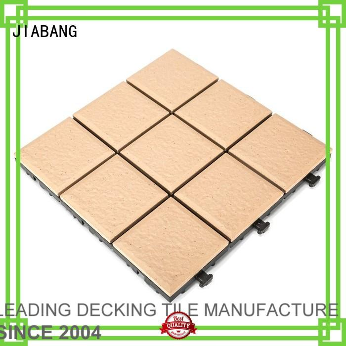 ceramic garden tiles porcelain exhibition porcelain patio tiles JIABANG Brand