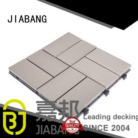 JIABANG high-end outdoor plastic tiles anti-siding home decoration