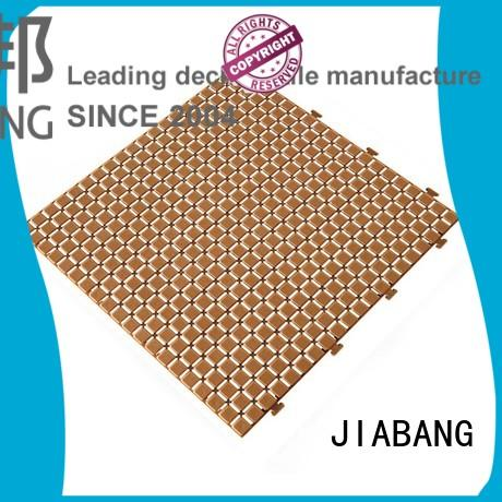 JIABANG anti-sliding plastic garden tiles high-quality for wholesale
